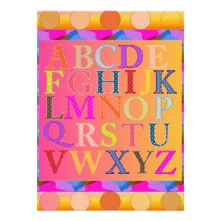 Alphabet Custom Announcements