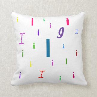 Alphabet Decorative Letter Pillow I