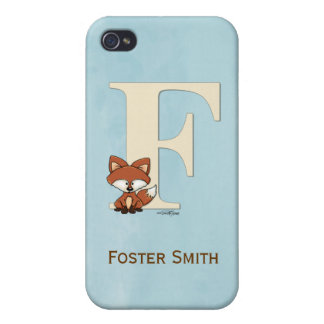 Alphabet Fox Gifts for baby Cover For iPhone 4