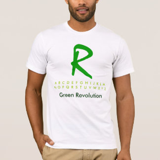 Alphabet Green R2 T-Shirt