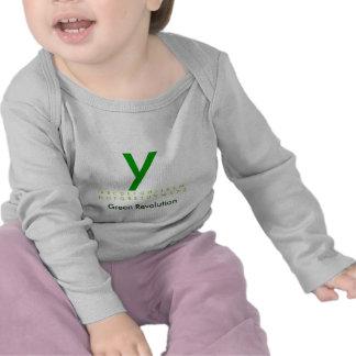 Alphabet Green Y Tshirts