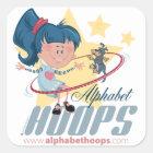 Alphabet Hoops: Stickers