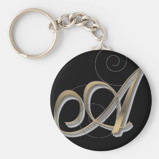 Alphabet Keychain