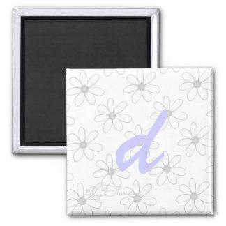 Alphabet Letter D Refrigerator Magnet