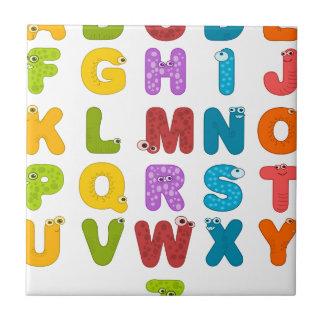 alphabet tile