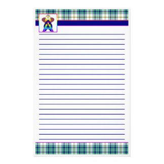 Alphabet Zone Paper Templates Stationery