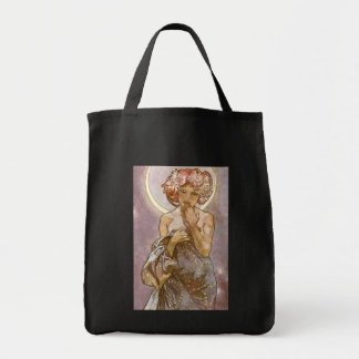 Alphones Mucha ~ The Moon 1902 Tote Bag