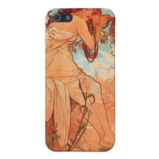 Alphons Mucha  Summer Case For The iPhone 5