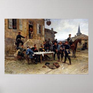 Alphonse-Marie-Adolphe de Neuville The Spy Poster