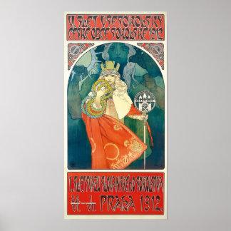 Alphonse Mucha 6th Sokol Festival, 1912 Poster