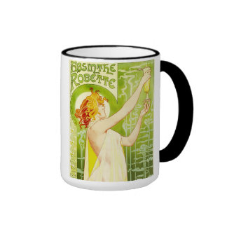 Alphonse Mucha Absinthe Robette Mug