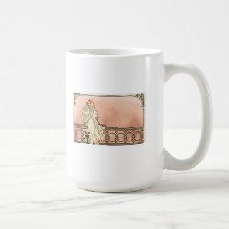 Alphonse Mucha Art Deco Mug