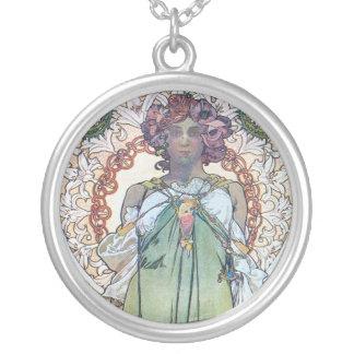 Alphonse Mucha art Jewelry