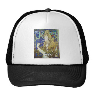 Alphonse Mucha Art Nouveau poster advertisment Cap