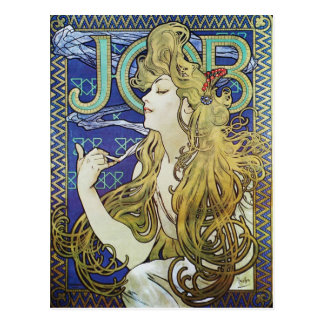 Alphonse Mucha Art Nouveau poster advertisment Postcard