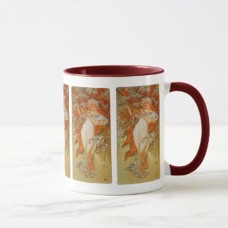Alphonse Mucha - Art Nouveau - Spring Mug