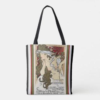 Alphonse Mucha Art Nouveau Tote