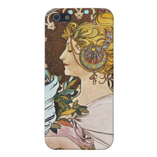 Alphonse Mucha Artwork Cover For iPhone 5/5S