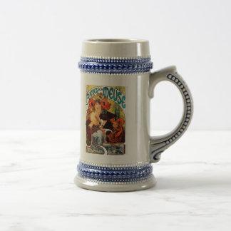 Alphonse Mucha Beer of the Muse Mug