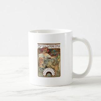 Alphonse Mucha Biscuits Lefevre Utile Coffee Mug