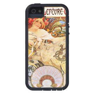 Alphonse Mucha Biscuits Lefevre-Utile iPhone 5 Case