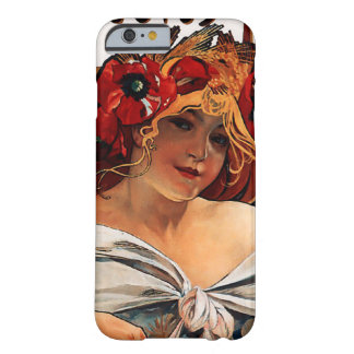 Alphonse Mucha Biscuits Lefevre Utile iPhone 6 cas Barely There iPhone 6 Case