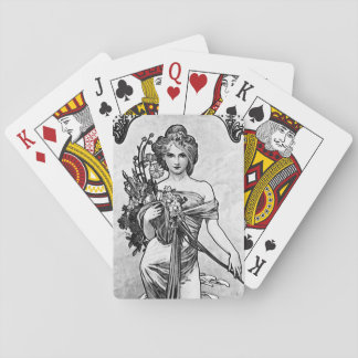 Alphonse Mucha Broken Blossoms Playing Cards