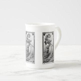 Alphonse Mucha Broken Blossoms Tea Cup