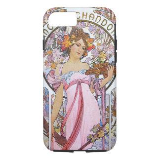 Alphonse Mucha. Champagne advertisement,1899. iPhone 7 Case
