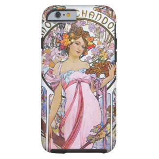 Alphonse Mucha. Champagne advertisement,1899. Tough iPhone 6 Case