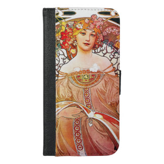 Alphonse Mucha Daydream Floral Vintage Art Nouveau