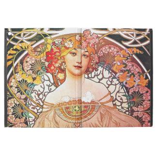 "Alphonse Mucha Daydream Floral Vintage Art Nouveau iPad Pro 12.9"" Case"