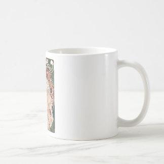 Alphonse Mucha: Daydream (Rêverie) Coffee Mug
