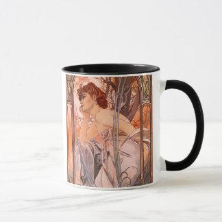 Alphonse Mucha Evening Reverie Mug