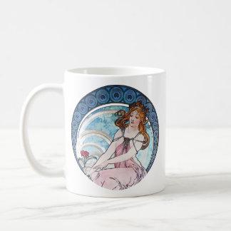 Alphonse Mucha Fine Art Mugs