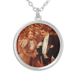 Alphonse Mucha Flirt Necklace