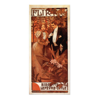 Alphonse Mucha Flirt Print Photo Art