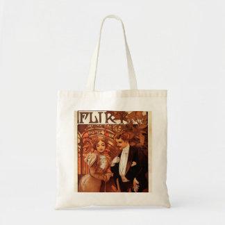 Alphonse Mucha Flirt Tote Bag
