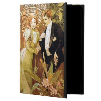Alphonse Mucha Flirt Vintage Romantic Art Nouveau