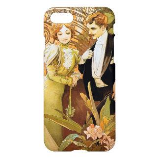 Alphonse Mucha Flirt Vintage Romantic Art Nouveau iPhone 7 Case