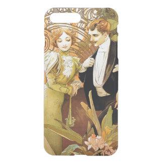 Alphonse Mucha Flirt Vintage Romantic Art Nouveau iPhone 7 Plus Case