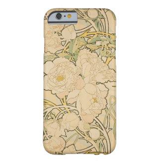Alphonse Mucha Floral Pattern Art Nouveau Case