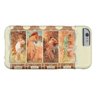 Alphonse Mucha Four Seasons Art Nouveau Barely There iPhone 6 Case
