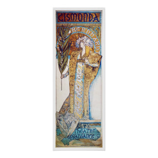 Alphonse Mucha. Gismonda, 1894 Poster