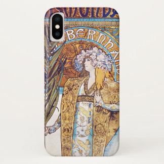 Alphonse Mucha Gismonda Art Nouveau iPhone X Case