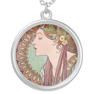 Alphonse Mucha Goddess Art Jewelry