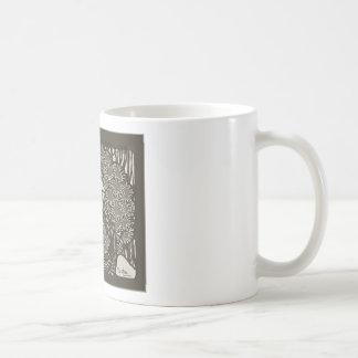 Alphonse Mucha Illustration Basic White Mug
