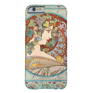 Alphonse Mucha Ivy Barely There iPhone 6 Case