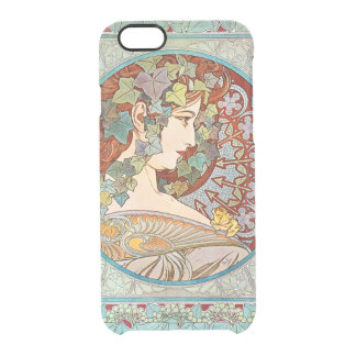 Alphonse Mucha Ivy Clear iPhone 6/6S Case