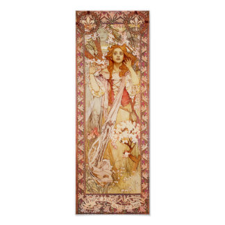 Alphonse Mucha Joan of Arc Poster
